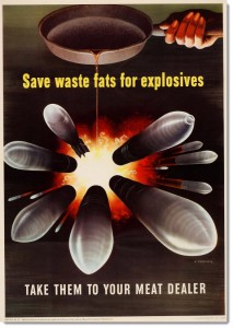 WWII Waste Fats for Explosions