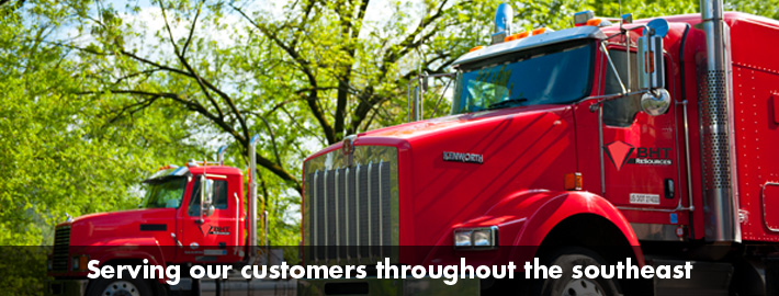 Serving our customers throughout the southeast